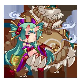 鬼姬·青姬与熊童子